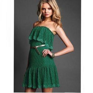 Victorias Secret Moda International Green Dress XS